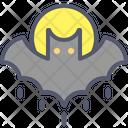 Bat Night Bird Icon