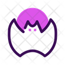 Bat Halloween October Icon