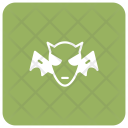 Clown Spooky Ghost Icon