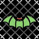 Bat Halloween Ball Icon
