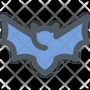 Bat Corona Animal Icon