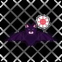 Bat Spread Covid 19 Corona Icon