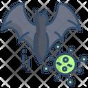 Bat Bat Virus Animal Virus Icon