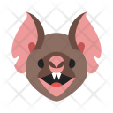 Bat Face Animal Icon