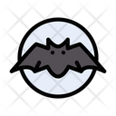 Bat Scary Monster Icon