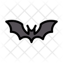 Bat Halloween Scary Icon