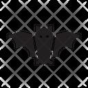 Bat Halloween Game Icon