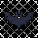 Bat Halloween Scary Icon