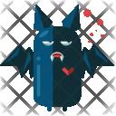 Bat Evil Ghost Icon