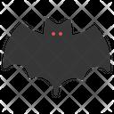 Spooky Bat Halloween Icon