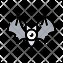 Halloween Bat Ghost Icon