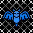 Bat Full Moon Icon