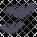 Bat Spooky Terror Icon
