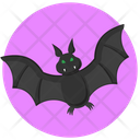 Bat Halloween Spooky Icon