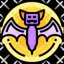 Terror Scary Bat Icon