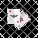 Playingcard Halloween Bat Icon