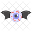 Halloween Eye Bat Eyeball Halloween Eyeball Icon