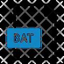 Bat File Type File Format Icon