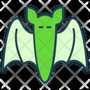 Halloween Horror Bat Icon