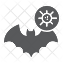 Bat Coronavirus Animal Covid Virus Contagious Icon