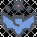 Corona Disease Bat Icon