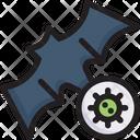 Virus Transmission Disease Icon