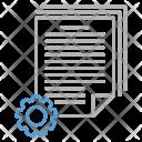 Batch Processing Document Icon