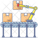 Series Production Batch Production Batch Manufacturing Icon
