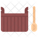 Water Scoop Sauna Icon