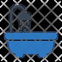 Bath Tub Shower Icon