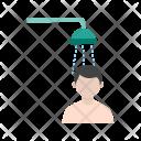 Taking Bath Shower Icon