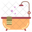 Bath Tub Bathroom Icon