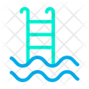 Plunge Pool Swimming Bath Icon
