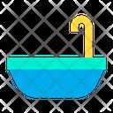 Tub Bathtub Bathroom Icon