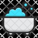 Bath Water Clean Icon