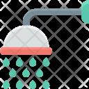 Bath Sprinkler Shower Icon