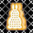 Bath Layer Rabbit Icon