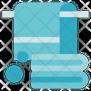 Hygiene Towel Bath Icon