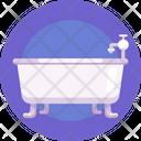 Bath Tub Bathtub Bathroom Icon