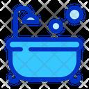Bath Tube Newborn Kid Icon