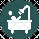 Bathing Body Rinse Personal Hygiene Icon