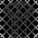 Bathrobe Dress Spa Icon