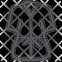 Bathrobe Coat Housecoat Icon