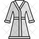 Bathrobe Cloak Outer Garment Icon