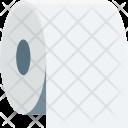 Bathroom Paper Roll Icon
