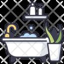 House Bathtub Interior Icon