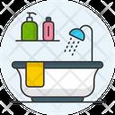 Bathroom Restroom Bathtub Icon