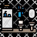 Bathroom Home Decoration Icon