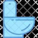 Bathroom Commode Toilet Icon