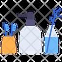 Bathroom Tootbrush Bottle Icon